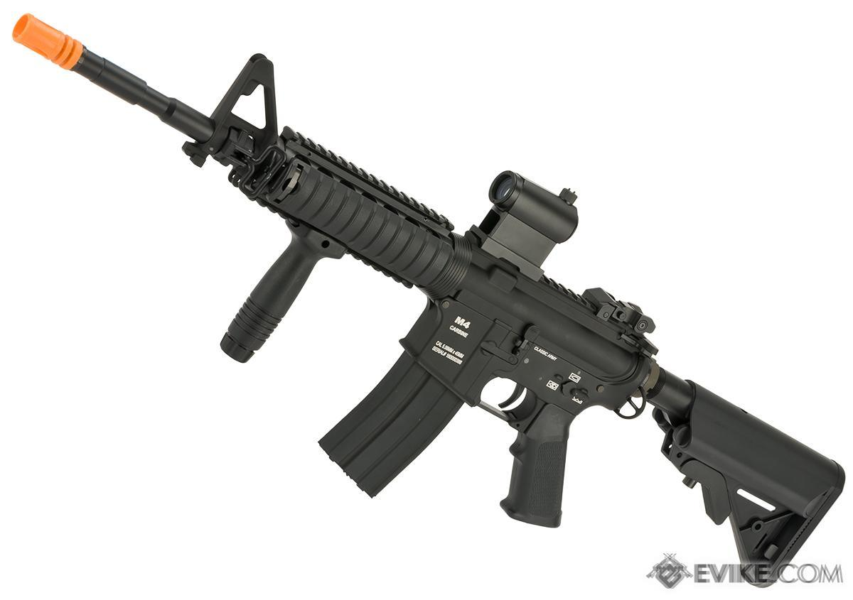 Pre-Order ETA April 2018 Classic Army M4 RIS Airsoft AEG Rifle  - Black
