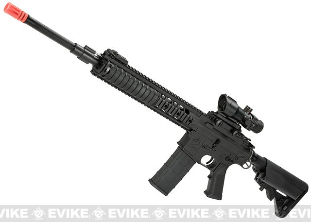 z BO-Dynamics / Lonex Full Metal 21 M4 / M16 BAW-R SPR / DMR Airsoft EBB AEG Rifle - Black