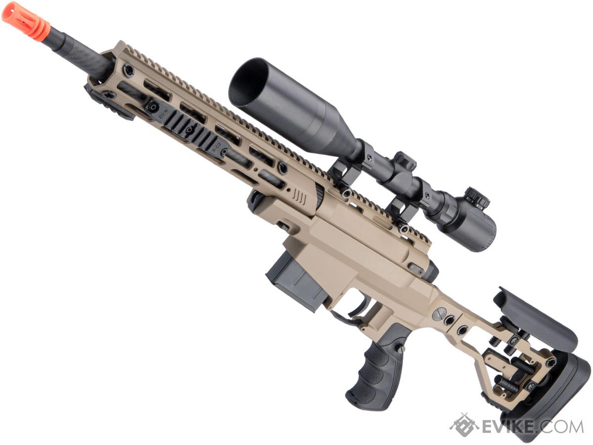 ARES MSR303 Quick-Takedown Airsoft Sniper Rifle (Color: Dark Earth)