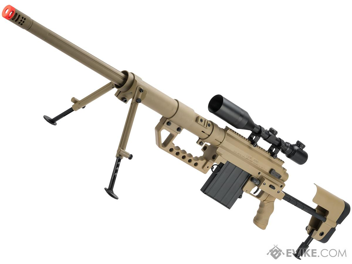 ARES M200 Bolt Action Airsoft Sniper Rifle (Color: Desert)
