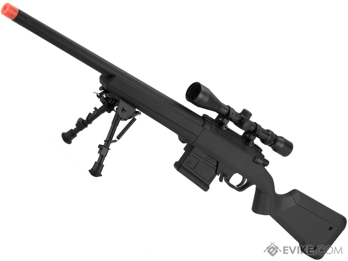 AMOEBA Striker S1 Gen2 Bolt Action Sniper Rifle (Color: Black)