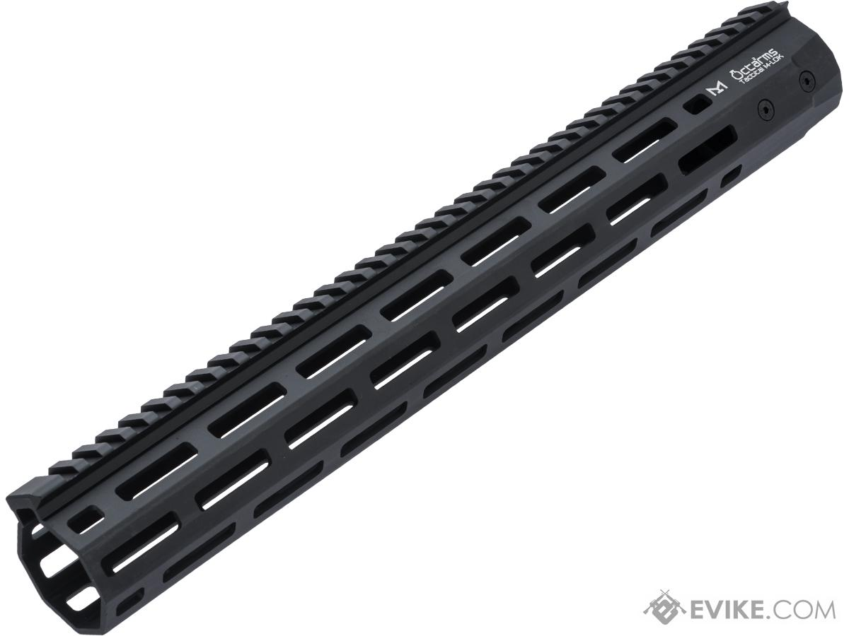 ARES Octarms M-LOK Rail System for M4 / M16 Series Airsoft AEG Rifles (Color: Black / 15)
