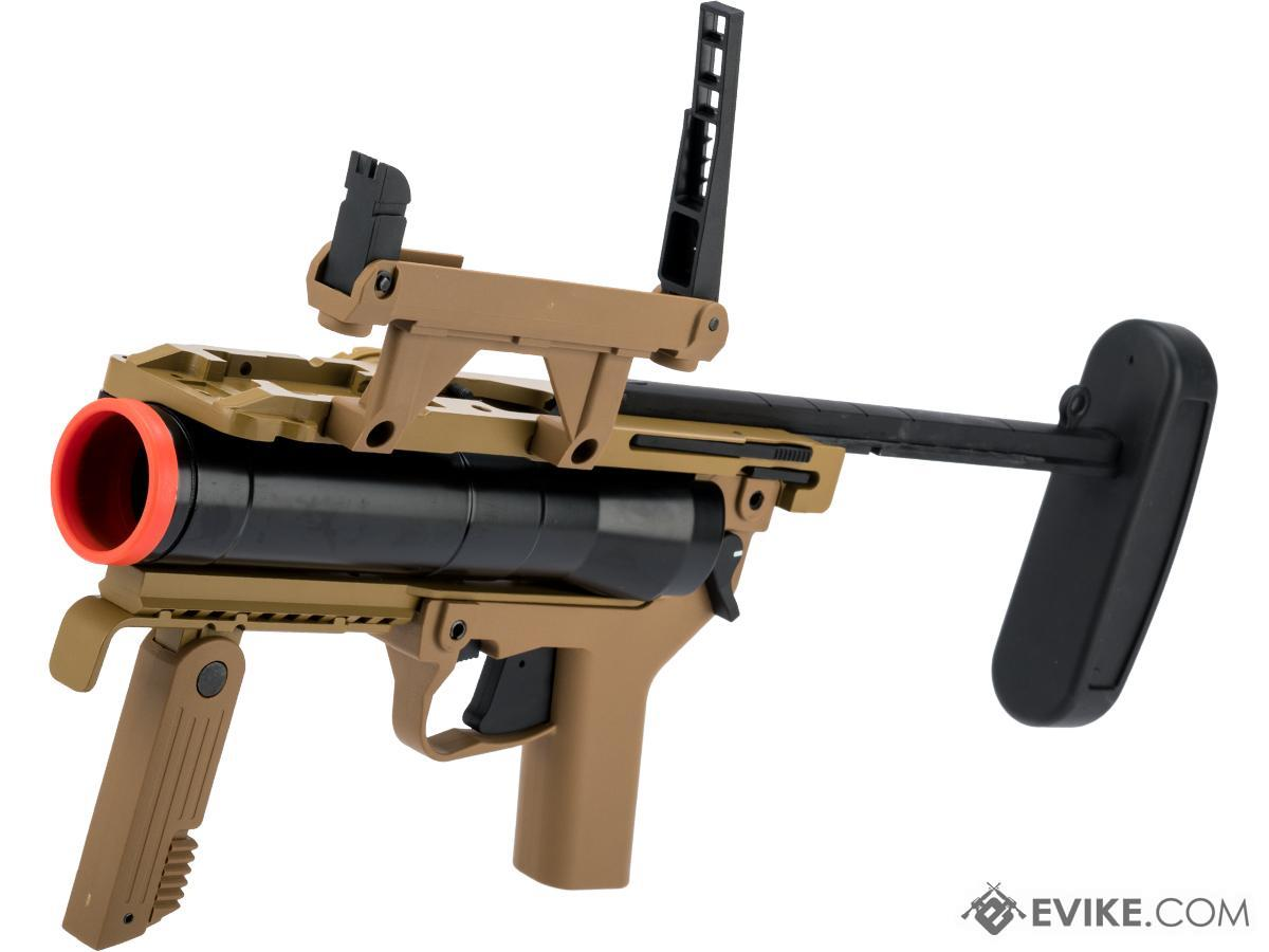 ARES M320 40mm Airsoft Grenade Launcher (Color: Tan)