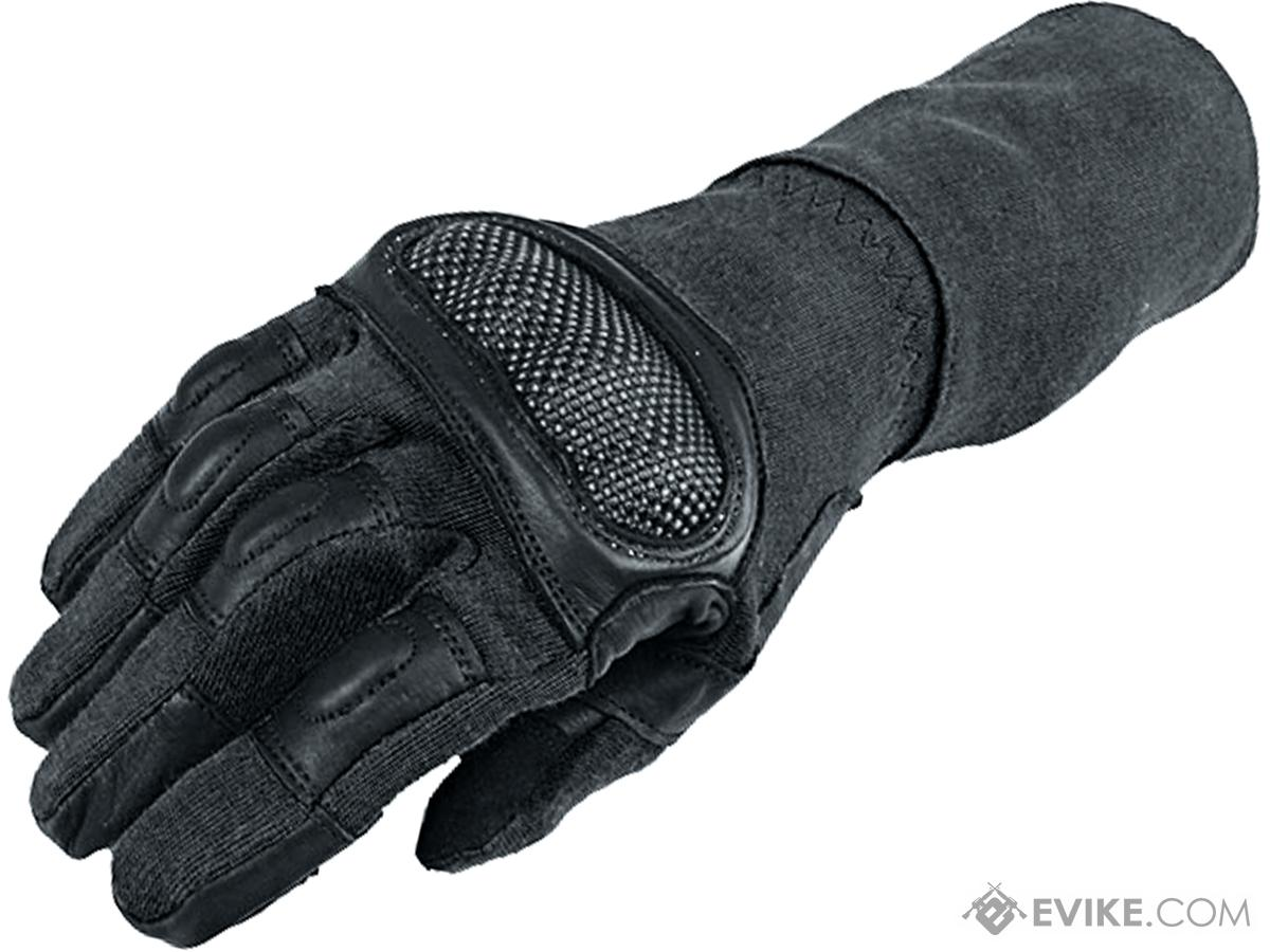 Armored Claw Breacher Tactical Glove (Color: Black / Medium)