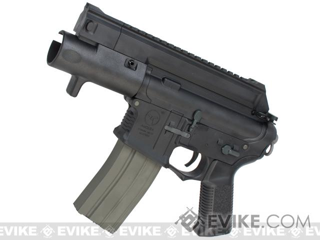 ARES Amoeba CCP M4 Airsoft AEG Machine Pistol (Color: Black)