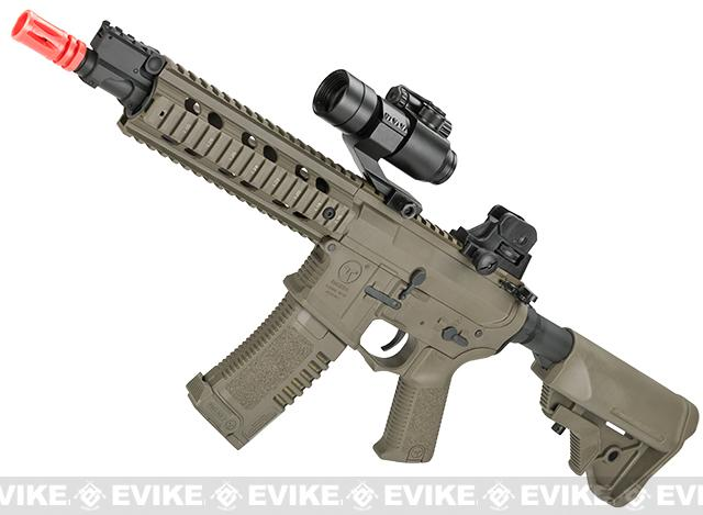 z ARES Amoeba CG 10 CQB M4 Airsoft AEG - Dark Earth