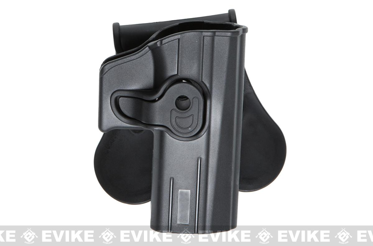 ASG Strike Systems Hardshell Holster for ASG CZ P07 and P09 Airsoft Pistols - Paddle Attachment