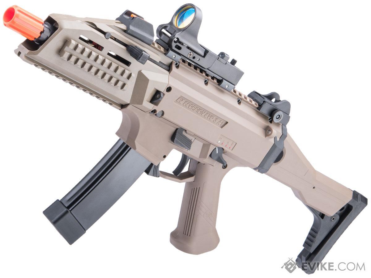 Pre-Order ETA December 2021 ASG CZ Scorpion EVO 3 - A1 Airsoft AEG Rifle (Color: Limited Edition Flat Dark Earth)