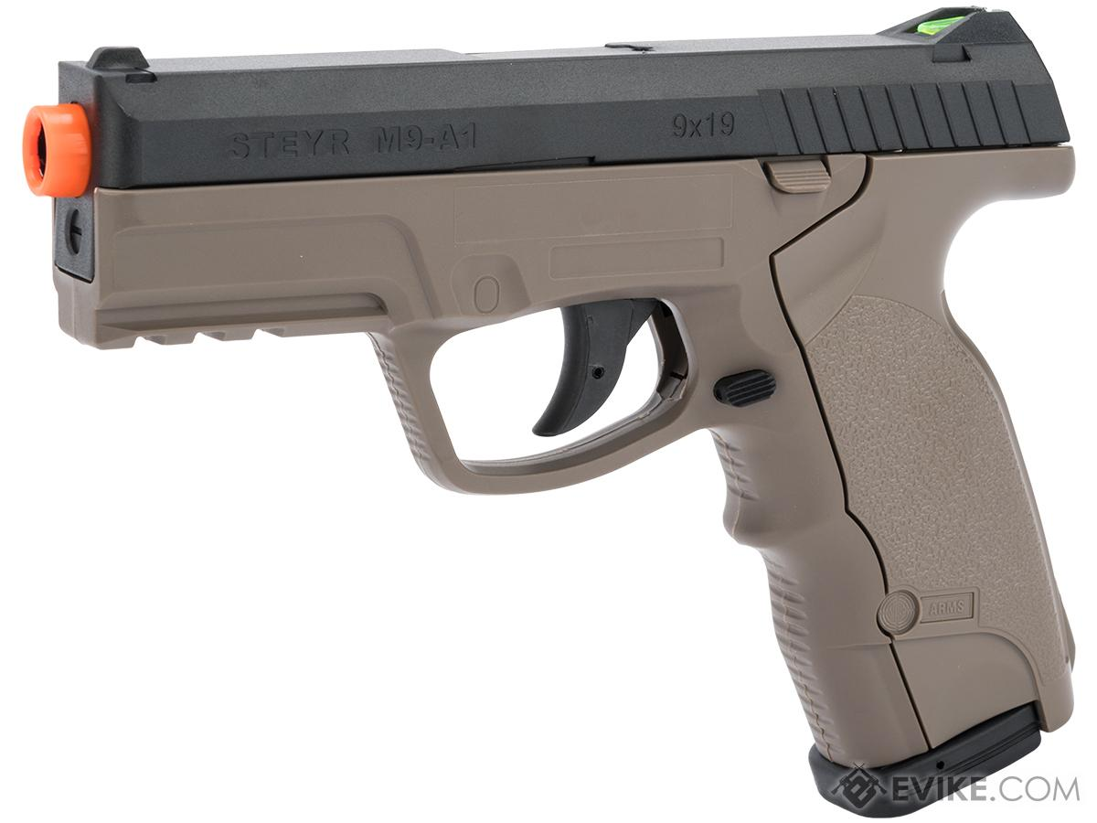 Evike.com Exclusive ASG Steyr M9A1 Non-Blowback Pistol (Color: Dark Earth Special Edition)