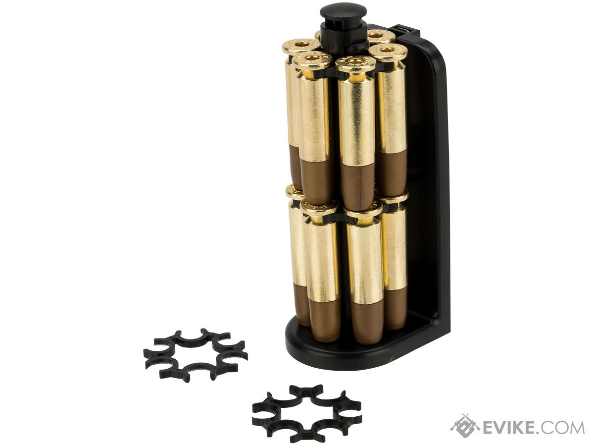 ASG Moon Clip Set with 12 Revolver Cartridges for Dan Wesson 715 Airsoft Revolvers with Loader Caddy