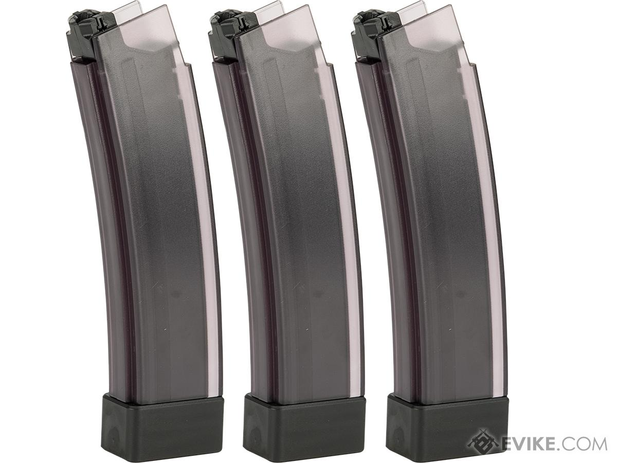 ASG 75rd Standard Magazine for CZ Scorpion EVO 3 A1 AEG (Color: Smoked Translucent / Box of 3)