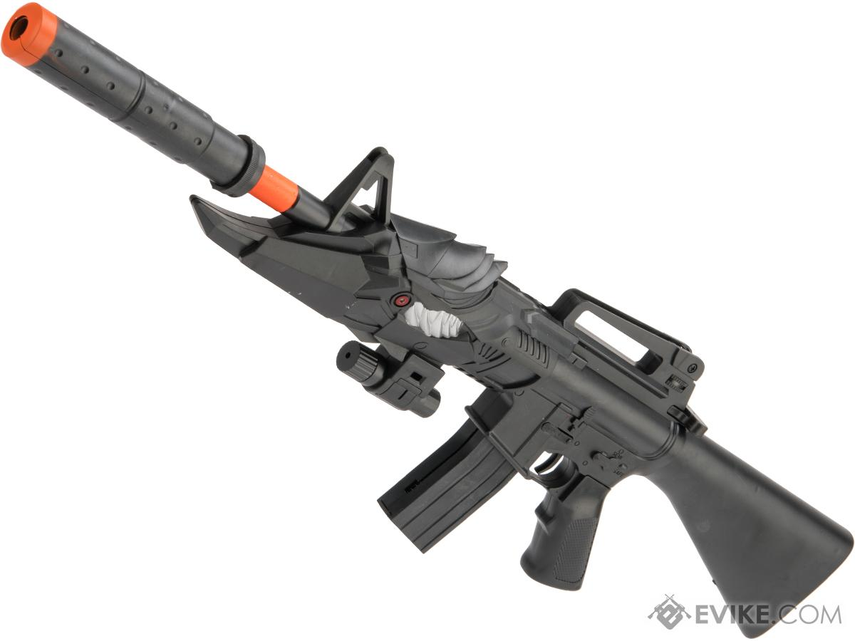 ASP 1004C Mini M16 Single Shot Spring Powered Airsoft Rifle