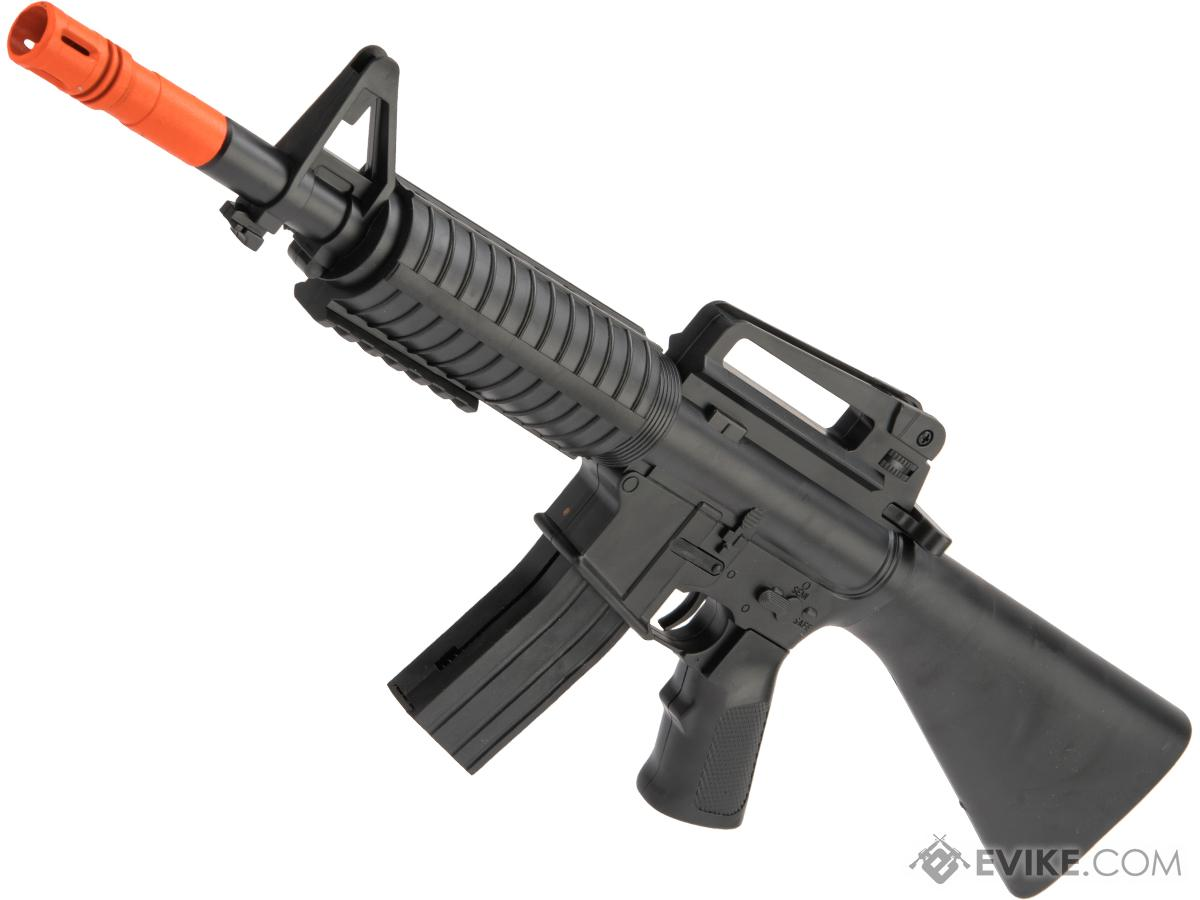 ASP Mini M16 Single Shot Spring Powered Airsoft Rifle (Package: Rifle)
