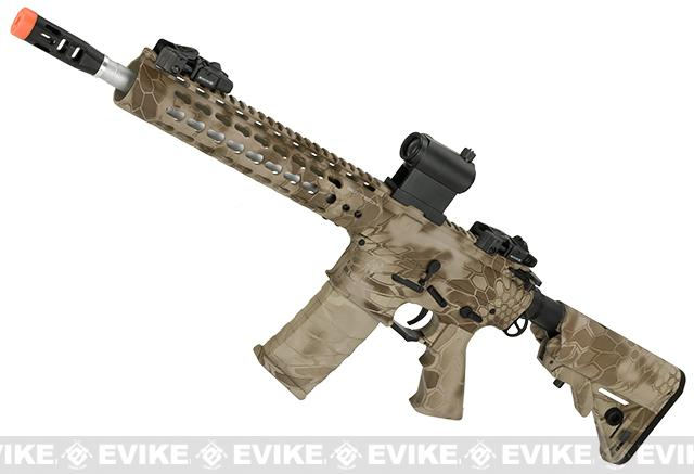 APS Silver Edge Gearbox Full Metal 10 M4 Airsoft AEG Rifle (Color: Kryptek Nomad)