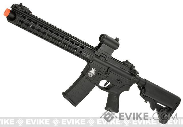 APS ASR116 Electric Blowback Airsoft M4 AEG (Color: Black / Crane Stock)