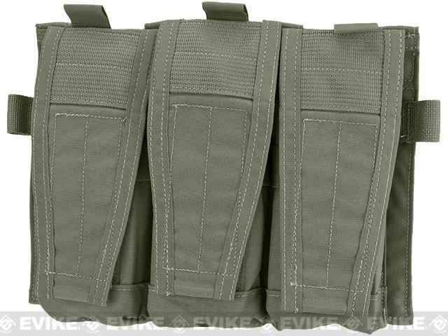 Crye Precision AVS Detachable Flap M4 Magazine Pouch - Ranger Green