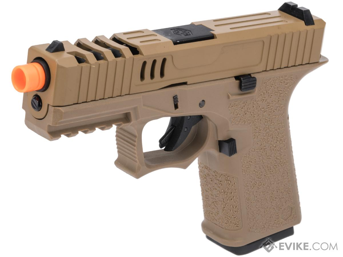 AW Custom VX9 Compact Series Gas Blowback Airsoft Pistol (Model: X80 / FDE)