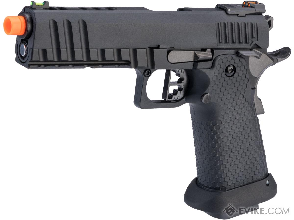 AW Custom Ace Competitor Hi-CAPA Gas Blowback Airsoft Pistol  (Package: Black / Gun Only / CO2)
