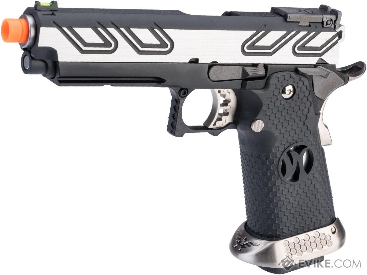 AW Custom HX23 4.3 Hi-Capa Competition Grade Full Auto Select Fire GBB Pistol (Color: Two-Tone)