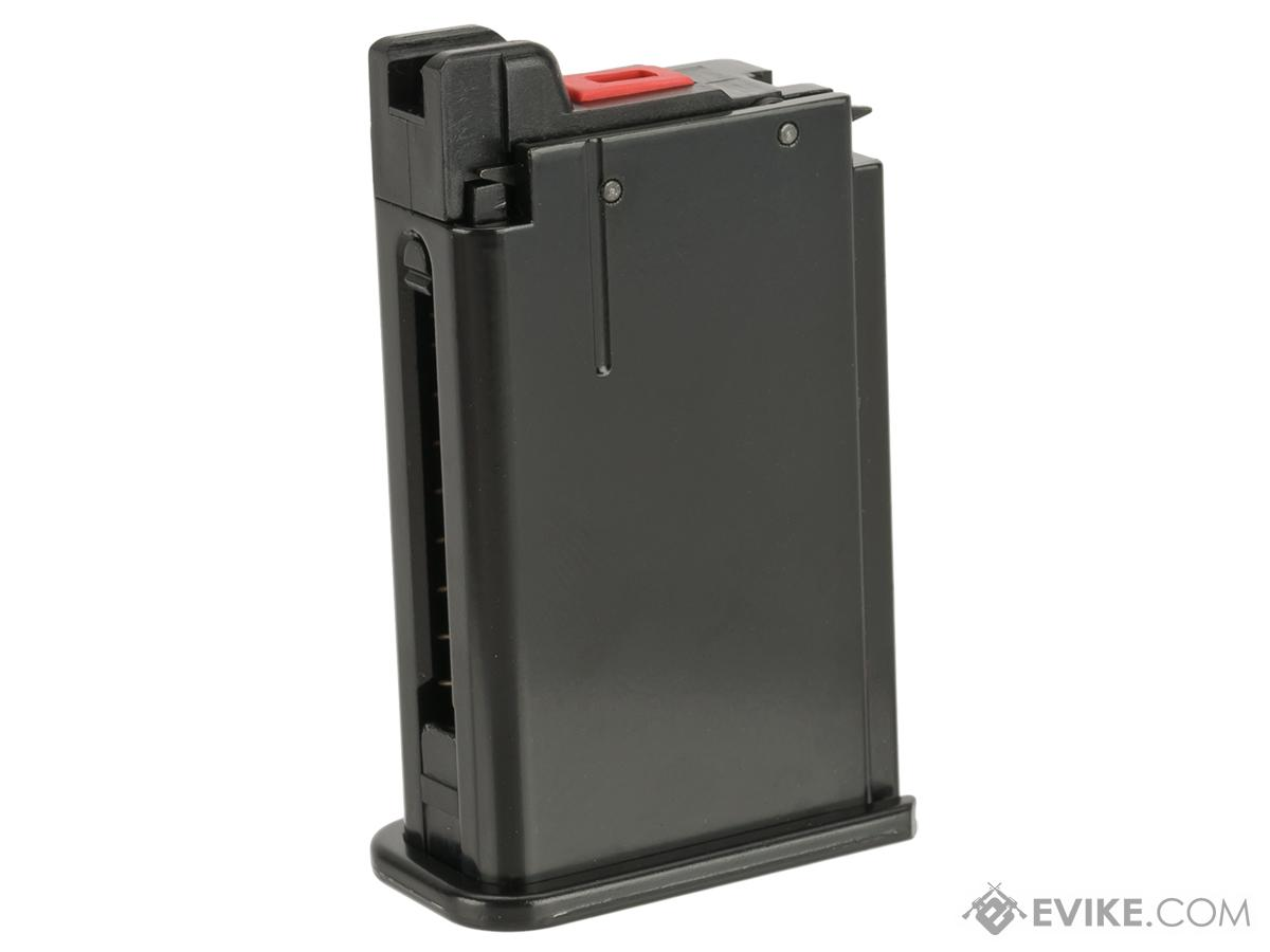 aw custom broomhandle 10 round gas magazine black evike com