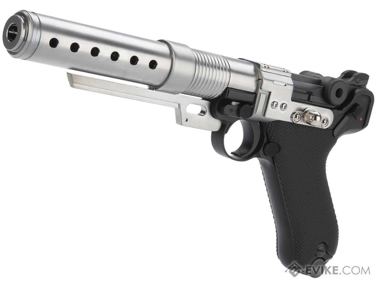 AW Custom Limited Edition Custom Built Luger P08 6 Pistol with Muzzle Device