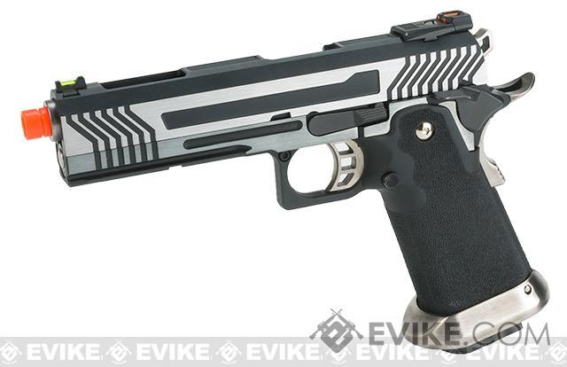 AW Custom  Hi-Capa Competition Grade Gas Blowback Airsoft Pistol (Color: Two-Tone)