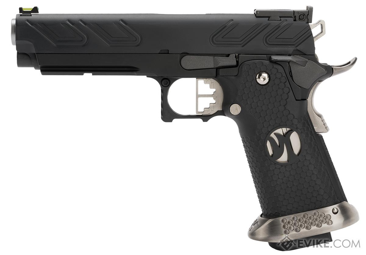 Aw custom hx2302 hi capa gas blowback airsoft pistol color black hover or touch above to zoom fandeluxe Images