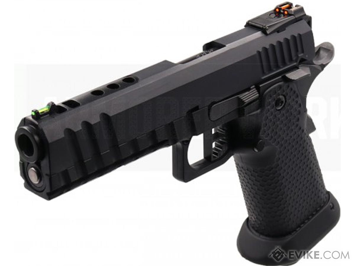 AW Custom HX1101 Full Metal Blowback 4.5mm CO2 Powered Airgun (AIRGUN NOT AN AIRSOFT GUN) (Color: Black)