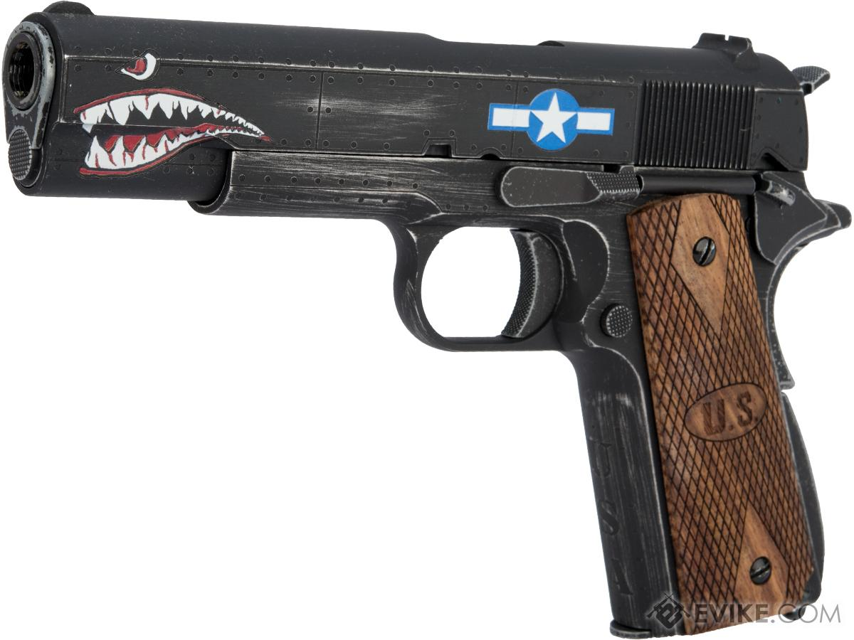 Auto-Ordnance Custom 1911 Gas Blowback Pistol Licensed by Cybergun (Model: Squadron)