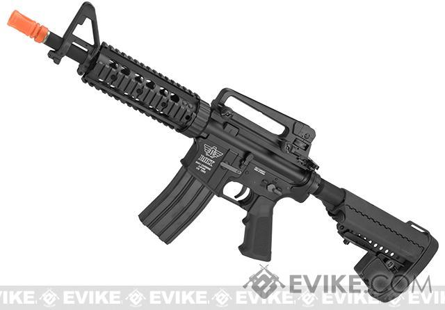 z BOLT M4 Elite Force B.R.S.S. Full Metal Recoil EBB Airsoft AEG Rifle (Color: Black)