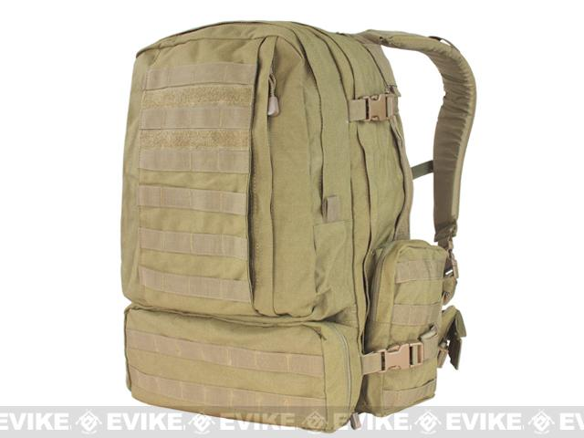 Condor Tactical Expedition Combat 3 Day Assault Back Pack (Color: Tan)