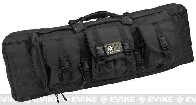 Combat Featured 36 Ultimate Dual Weapon Case Rifle Bag (Color: Black)