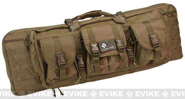 Pre-Order ETA February 2018 Combat Featured 36 Ultimate Dual Weapon Case Rifle Bag (Color: Desert)