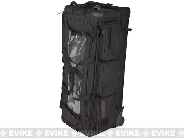 z 5.11 Tactical CAMS 40 Outbound Rolling Rifle Bag / Suitcase (Color: Black)