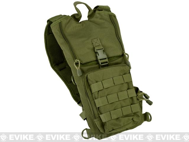 Lancer Tactical Light Weight Hydration Carrier w/ Molle (Color: OD Green)