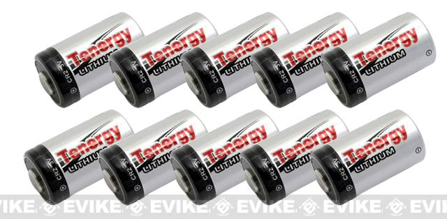 Tenergy High Performance Lithium CR2 Batteries set of 10