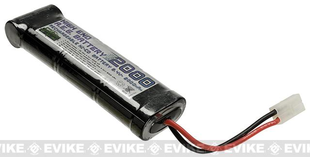 Cybergun / Softair 8.4v 2000mAh High Performance Brick Large Type NiCD Battery - Large Tamiya