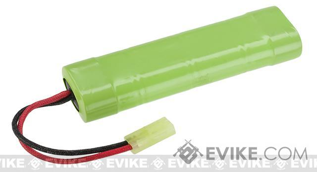 JG Stock Small Type NiMh Airsoft RC battery (Size: 9.6v)