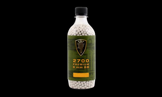 Elite Force Premium BBs - 0.25g White (QTY: 1 Bottle / 2,700 Rounds)