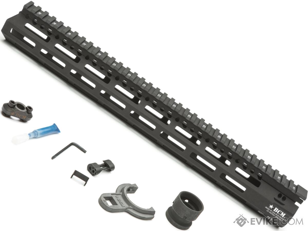 BCM GUNFIGHTER MCMR M-LOK Compatible Modular Rail for AR15 Rifles (Length: 15)