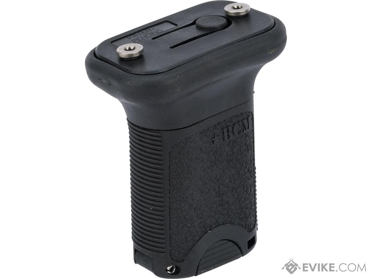 BCM GUNFIGHTER™ Vertical Grip w/ Tool-Less QD Installation (Color: Black / Short / KeyMod)