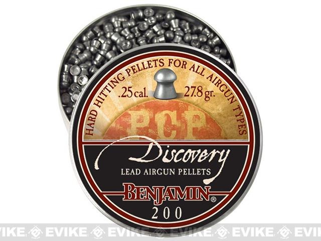 Benjamin .25 Cal. Domed Point Pellets - 27.9 Grain (200 Count)