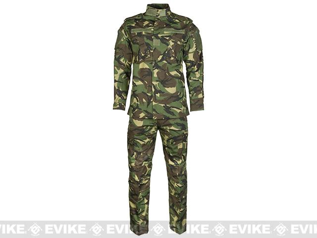 Emerson R6 BDU Field Uniform Set - Woodland DPM (Size: Large)