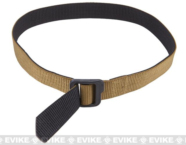 5.11 Tactical 1.5 Double Duty TDU Belt - Coyote / Black (Size: X-Large)