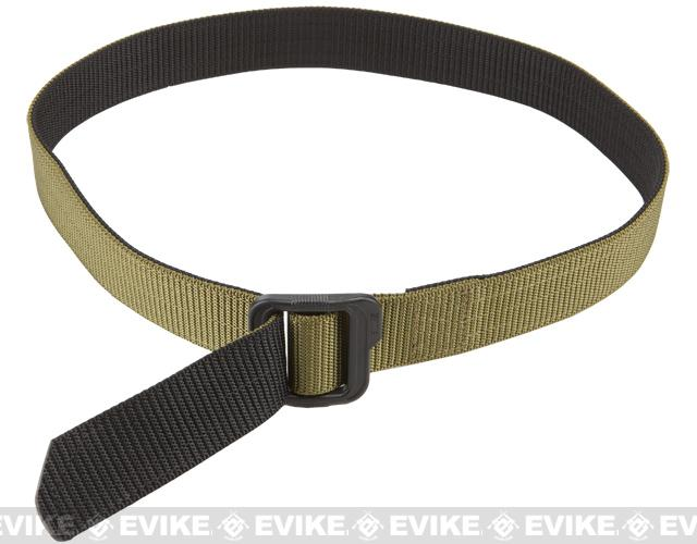 5.11 Tactical 1.5 Double Duty TDU Belt - TDU Green / Black (Size: XX-Large)