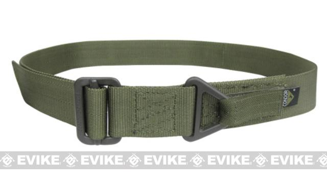Condor Outdoor Forged Steel Tactical Riggers Belt (Color: OD Green / Medium - Large)