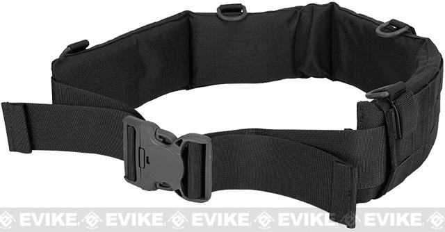 Matrix Emerson Padded Pistol Belt - Black (Size: Large)