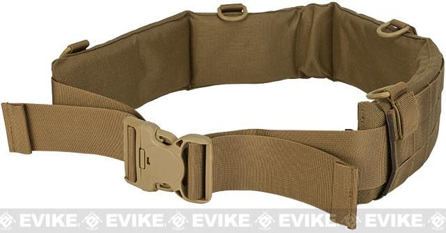 Matrix Emerson Padded Pistol Belt (Color: Coyote Brown / Medium)