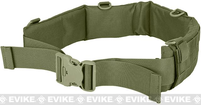 Matrix Emerson Padded Pistol Belt - Foliage Green (Size: Medium)