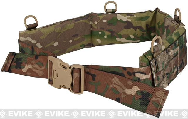 Matrix Emerson Padded Pistol Belt - Camo (Size: Medium)